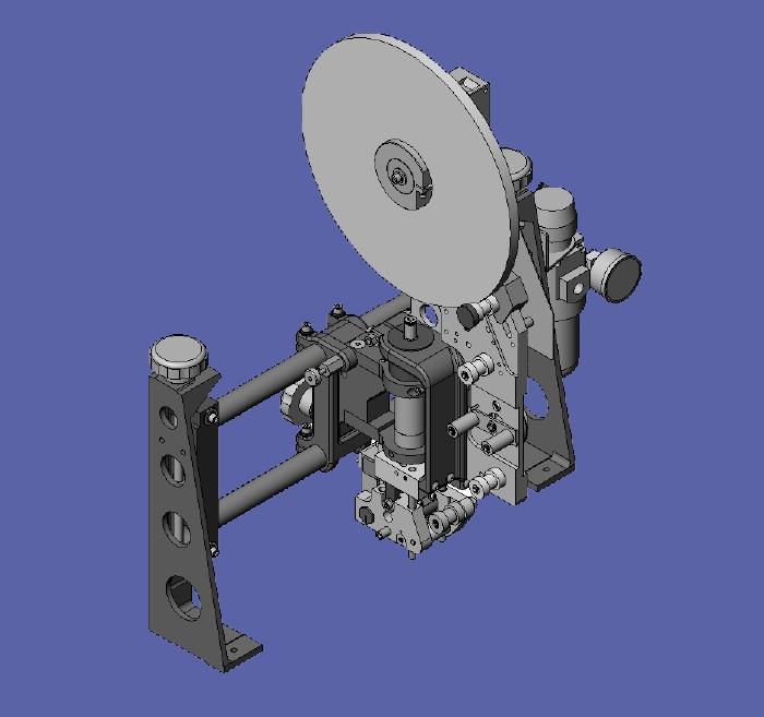 Automatic Tape Applicator ~ Model ″ ¾ tape dispenser tapeler machines